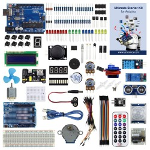 Enlarged starter kit for Arduino from UTRONICS