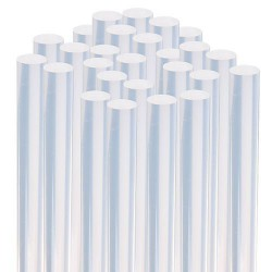 Hot-melt adhesive with a diameter of 11mm and a length of 30cm, transparent