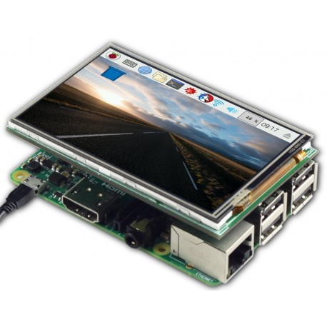 "3.5 ""ArduCAM touch display for Raspberry Pi"