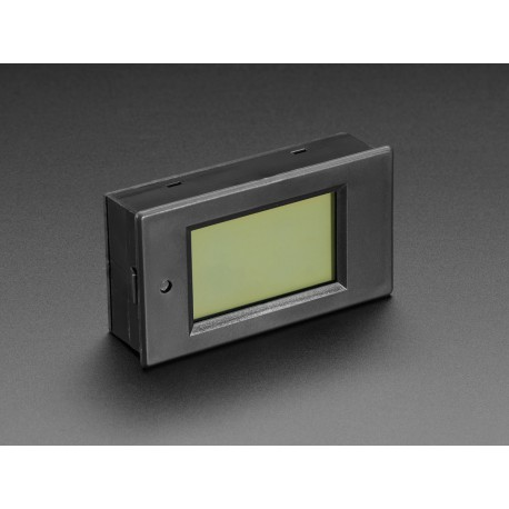 Panel voltage meter (6.5 ... 100V) and current (0 ... 20A) with LCD display