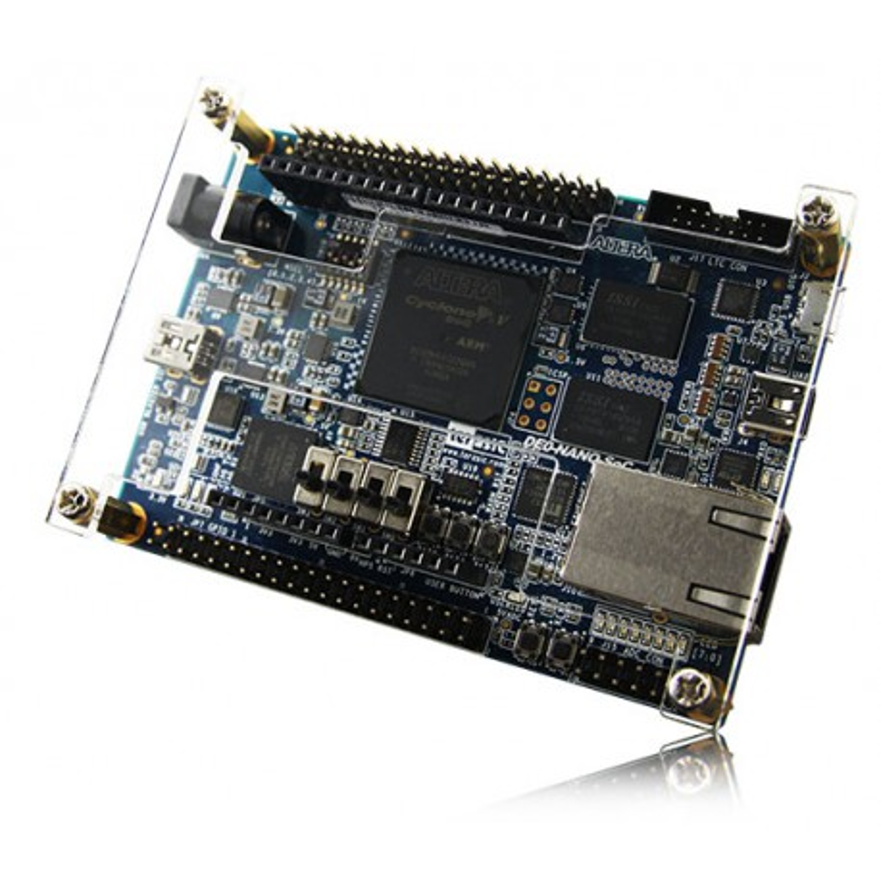 Atlas-SoC Kit (P0419) - starter kit with FPGA chip from the Altera Cyclone V SoC family