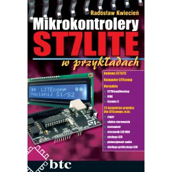 ST7LITE microcontrollers in the examples