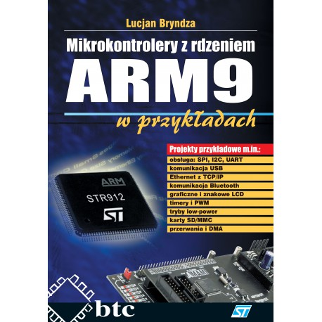 Microcontrollers with ARM9 core in the examples