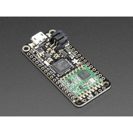 Adafruit Feather M0 RFM69HCW Packet Radio