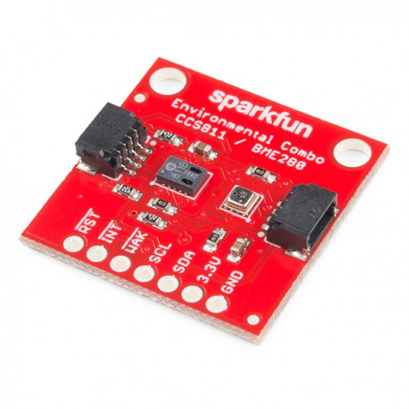 SparkFun Environmental Combo - CCS811/BME280 - moduł z czujnikami CCS811/BME280 z złączem Qwiic