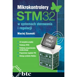 STM32 microcontrollers in control and regulation systems.