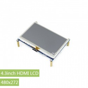 Waveshare kolorowy ekran HDMI LCD 4,3