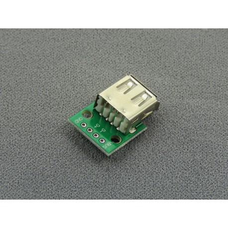 USB adapter for contact plate (female socket)