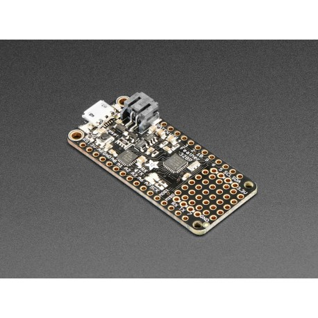 Adafruit Feather 328P - development board with Atmel 328P microcontroller (3.3V, 8MHz)