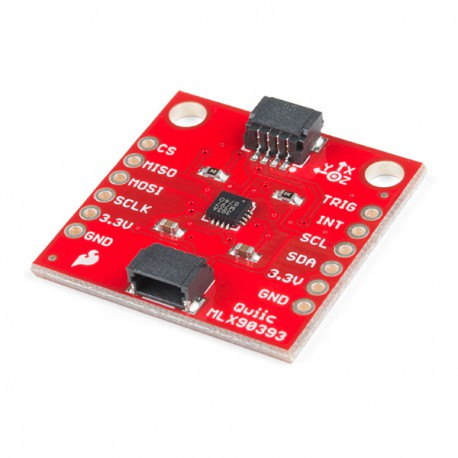 Module with 3-axis magnetometer MLX90393 - with Qwiic connector