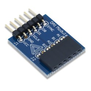 PmodDA1 (210-063) - moduł 8-bitowych przetworników cyfrowo-analogowych