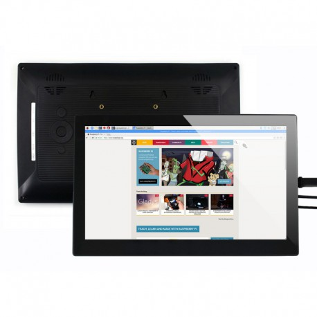"13.3 ""LCD touch screen display for Raspberry Pi with HDMI + housing"