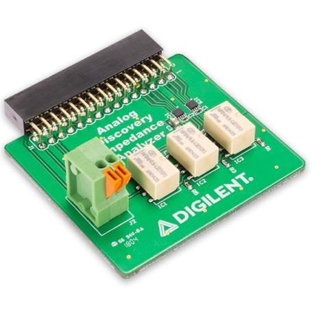 Digilent Impedance Analyzer - an impedance analyzer for Analog Discovery 2