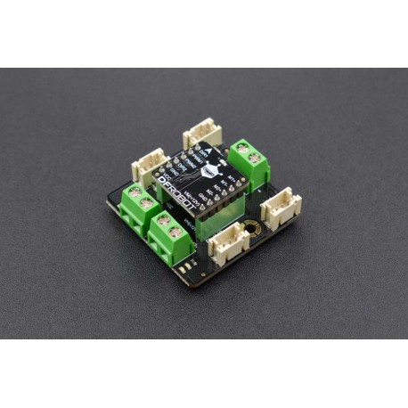 2x1.2A DC Motor Driver - DC motors driver with Gravity connector