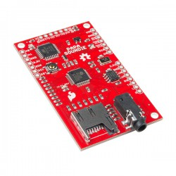 SparkFun Papa Soundie Audio Player - board with ATmega 328P microcontroller