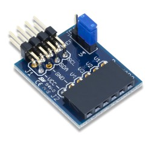 PmodAD2 (410-217) - moduł czterech 12-bitowych konwerterów ADC