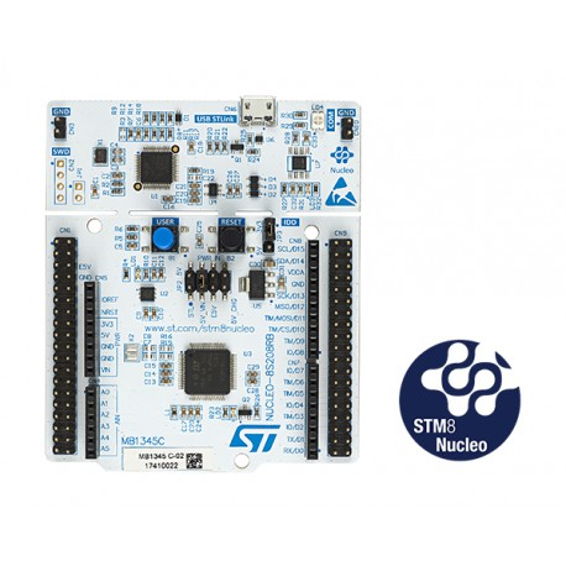 NUCLEO-8S208RB - zestaw z mikrokontrolerem STM8S208RB