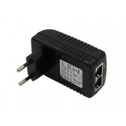 24V PoE plug-in power supply (48V 0.5A)