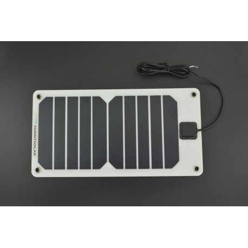 Semi Flexible Monocrystalline Solar Panel 5V/1A - elastyczny panel solarny
