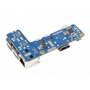 SIM7600CE 4G HAT - moduł komunikacyjny 4G/3G/2G/GSM/GPRS/GNSS