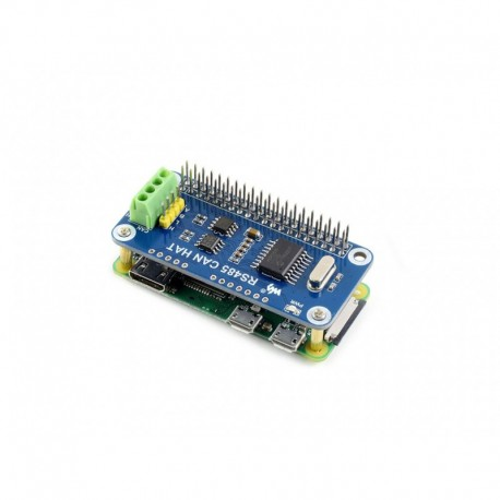 RS485 CAN HAT - CAN / RS485 module for Raspberry Pi (no Raspberry Pi included)