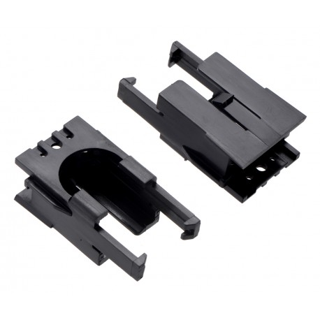 Romi Chassis Motor Clip Pair - handles for Romi chassis engines