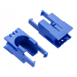 Engine mount for Romi Chassis chassis - Blue (2 pcs)
