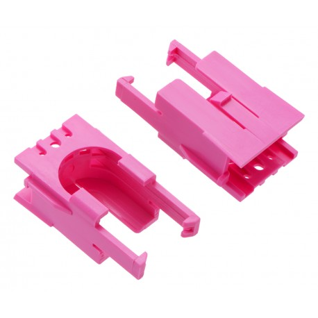 Engine mount for Romi Chassis - Pink (2 pieces)