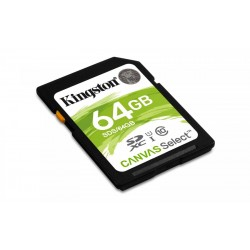 Memory card Kingston CANVAS SDS / 64GB