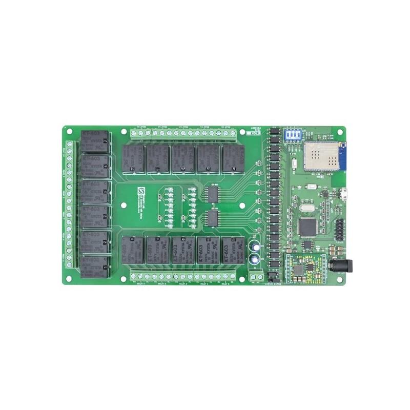 Kulka podporowa + mocowanie dla podwozia Romi Chassis - Białe