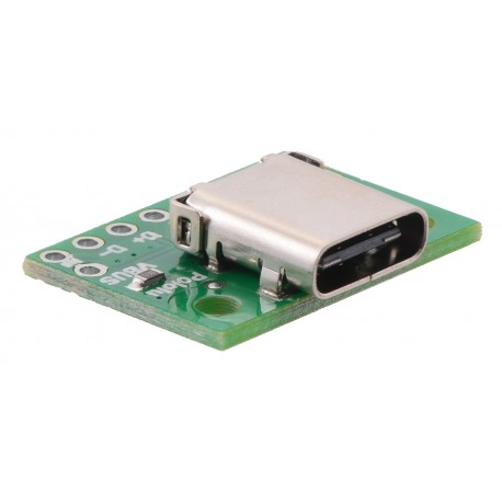 Module with USB 2.0 type C connector