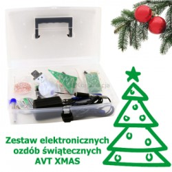 AVT XMAS - a package of Holiday Decorations for self-soldering