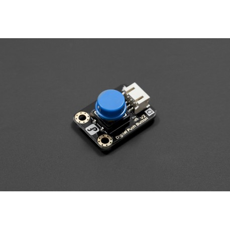 DFRobot Gravity - Button with LED and overlay (Blue)
