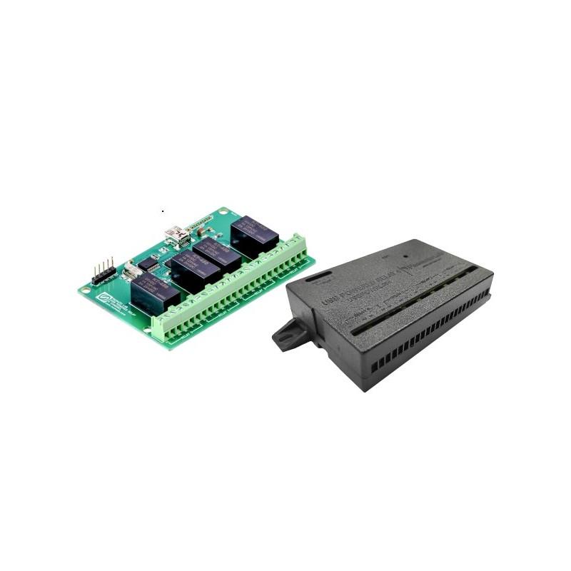DFRobot Gravity - Przycisk z diodą LED i nakładką (Niebieski)