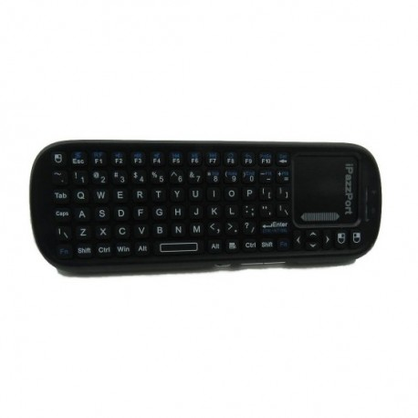iPazzPort KP-810-19S - a miniature wireless keyboard with a touchpad
