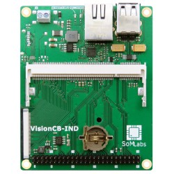 VisionCB-6ULL-IND v.1.0 - base plate for VisionSOM modules
