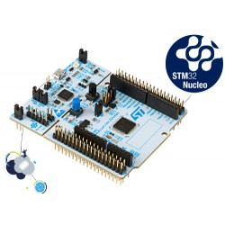 NUCLEO-G071RB - STM32 Nucleo-64 development board with STM32G071RB MCU, supports Arduino and ST morpho connectivity