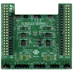 X-NUCLEO-EEPRMA1 - Standard I2C and SPI EEPROM memory expansion board based on M24xx and M95xx series for STM32 Nucleo