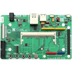 VisionCB-RT-STD v.1.0 - base board for VisionSOM modules with i.MX RT microcontrollers