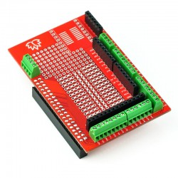 A prototype shield for Raspberry Pi