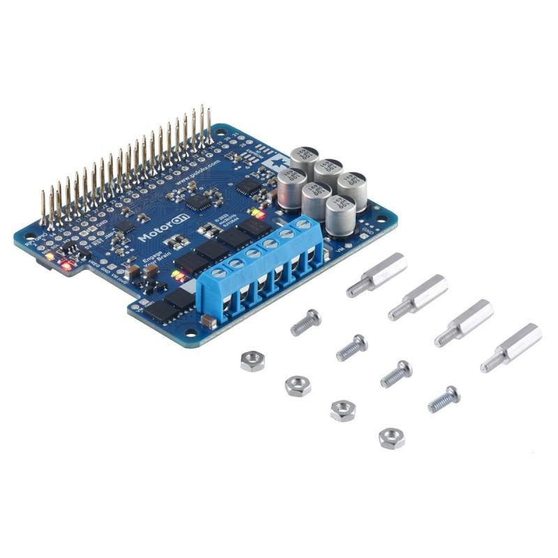 """Dotykowy wyświetlacz LCD 4"""" 800x480 dla Raspberry Pi - widok od góry"""