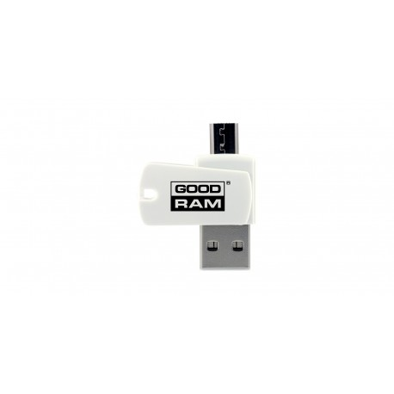 MicroSD GOODRAM memory card reader for USB and microUSB