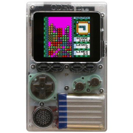Odroid-GO - a set for building your own game console
