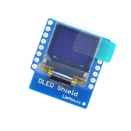 Module with OLED 64x48 display for D1 Mini