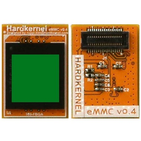 The eMMC 5.1 memory module with Android for the Odroid C2 - 128GB
