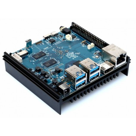 Odroid N2 with Amlogic S922X processor and 4GB RAM memory