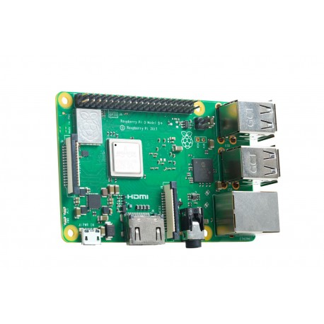 Raspberry Pi 3 model B+ z WiFi 2.4 i 5GHz oraz Bluetooth 4.2