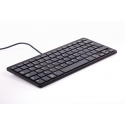The official keyboard for Raspberry Pi black and gray