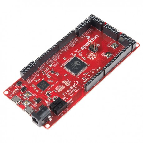 FreeSoC2 development kit with PSoC5LP system