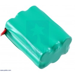 Pololu 2235 - Rechargeable NiMH Battery Pack: 7.2 V, 900 mAh, 3x2 AAA Cells, JR Connector